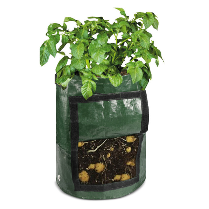 Custom Sturdy Garden Plant Grow Bag Vegetable Potato Flower Pot Diy Plant Eco-friendly Grow Bag
