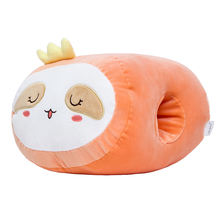 wholesale stuffed animal pillow cute plush hand warmers for winter