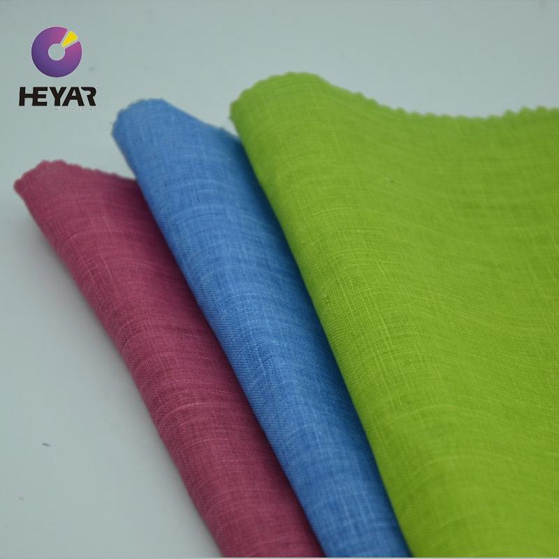 breathable high quality linen roll 100% linen fabric for shirt women shirt fabric fashionable