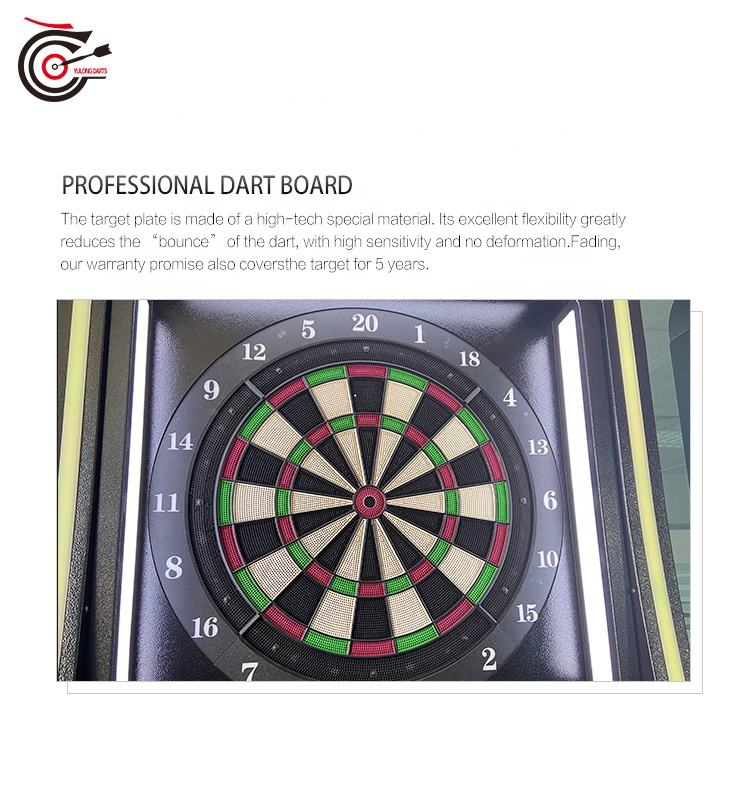 Darts Machine 2020 Manufacturer Supplied Minimalist-design International Standard Electronic Darts Machine With Stereo And Monitor