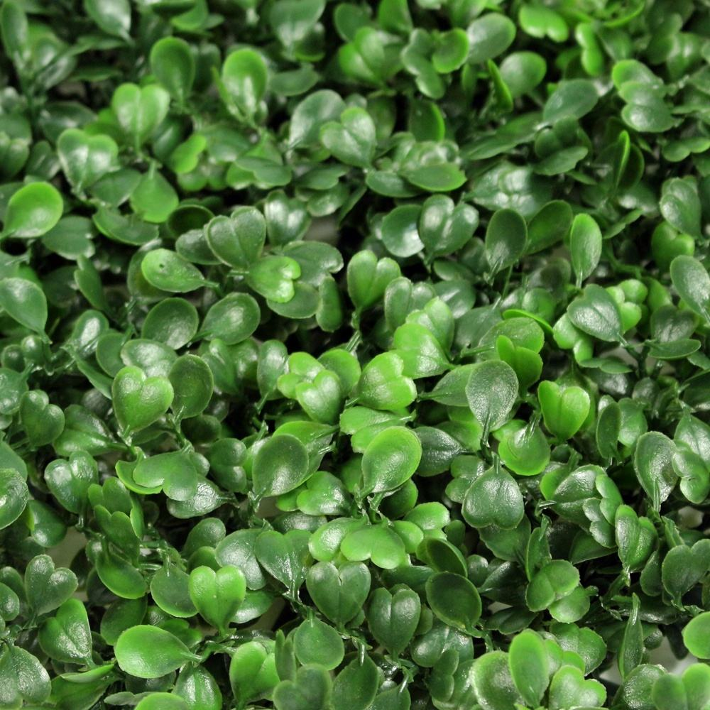 50*50cm green grass backdrop artificial boxwood hedge for landscaping decor