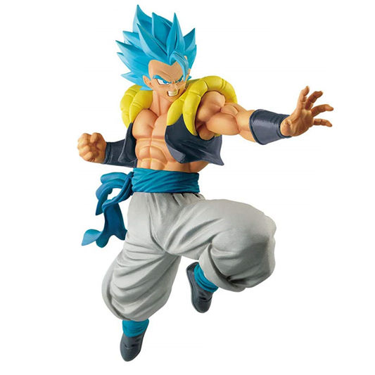 Hot Selling Blue Haar Dragon Ball Z Gogeta Model Standbeeld Anime Pvc Figuur Action Figure