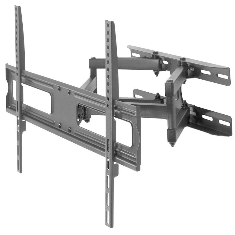 "Articulating TV Mount for Most 37""-70"" LED LCD Flat Screen VESA 600x400 mm Load Capacity 45kg, Distance to Wall 70 to 460mm"