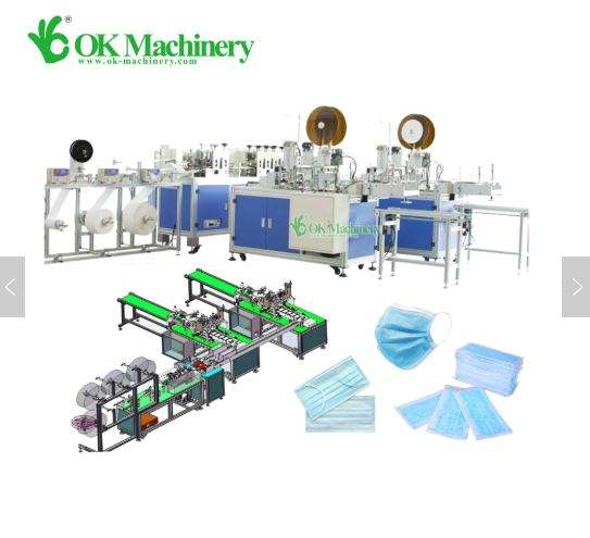 6000 Stuks Per Hourautomatic Masker Masker Making Machine