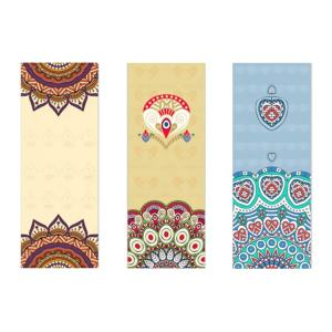 Wholesale Customized Design Rubber Yoga Mat Eco Friendly Yoga Pad with Microfiber Suede