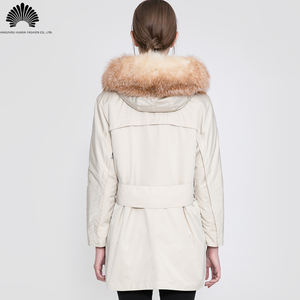 Elegant high quality women winter down coats and parka women