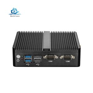 Mini PC sin ventilador La Ventana 10 4GB RAM Celeron J1800 J1900 3205U 3755U 2 Ethernet mini pc 2 RS232 Industrial HTPC PC VGA WiFi