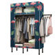 Bearing strong lightweight portable cloth cupboard wardrobe showcase