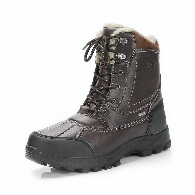 Men winter boots big size snow boots waterproof high quality Rubber strong samples can be supply wholesale factory