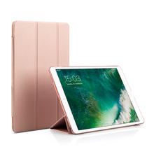"JCPAL Casense Folio Case Auto Sleep/Wake shockproof cover case for iPad Pro 10.5"" Rose Gold"