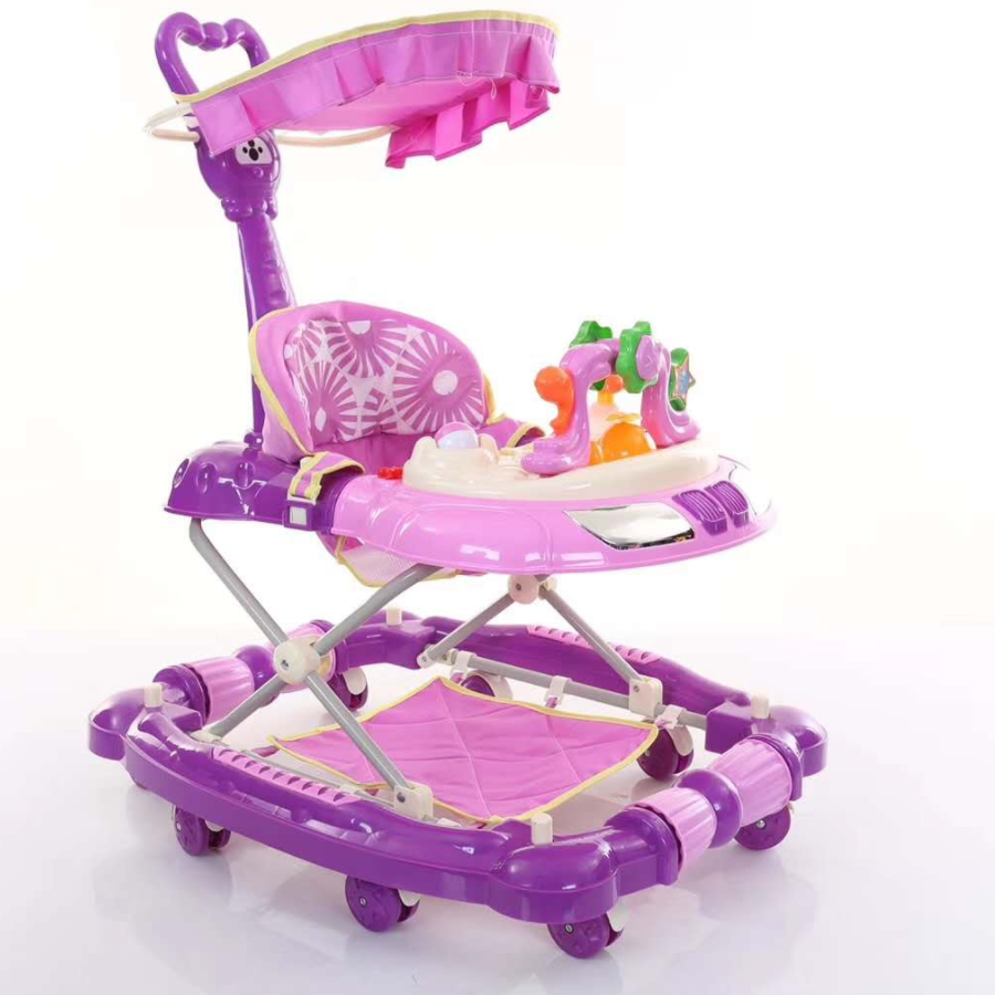 2020 New model 4 in 1 rocker baby walker with music/walker baby/baby walker