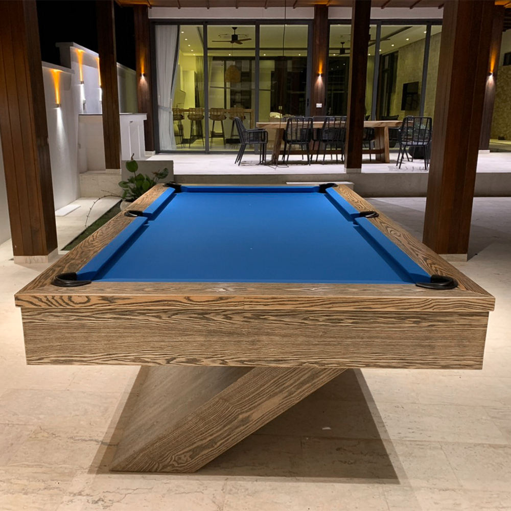 Luxury Home Ash Wood Pool Table Factory Directly Selling