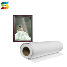 100% Polyester Inkjet Water based canvas Printing Paper For Painting