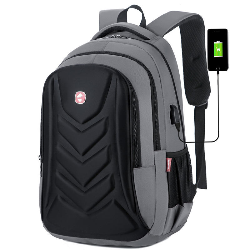 anti theft password backpack with usb charger waterproof computer business laptops bags for men backpack