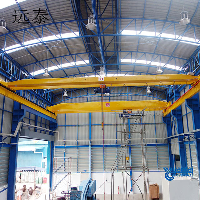 China 1 ton 2 ton 3 ton 5 ton 10 ton 15 ton 20 ton monorail electric single girder overhead bridge travelling crane price