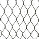 China Manufacturer high quality 304 316L stainless steel metal wire rope mesh For protection animal zoo wire mesh