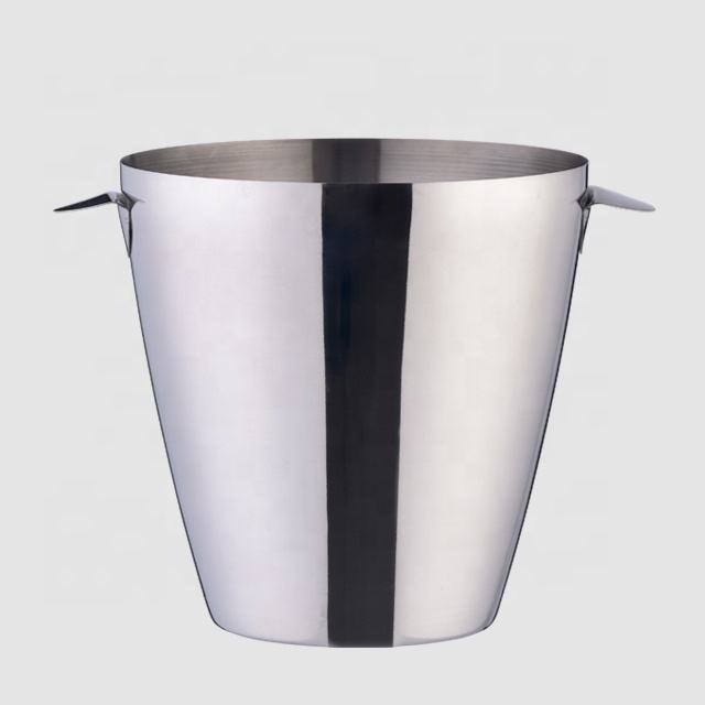 Factory Direct 3L bar products stainless steel luxury silver champagne bulk ice bucket