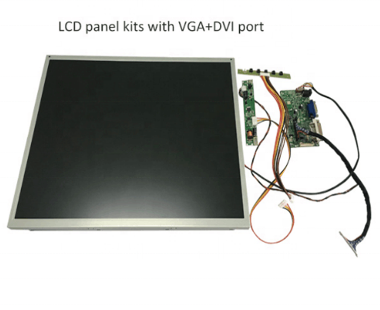 17 Inch TFT LCD Panel Kits With AD Board Transfer Board