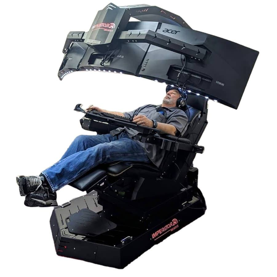 Imperator works zero gravity automatic recline IW-R1 Computer gaming Chair as predator thronos
