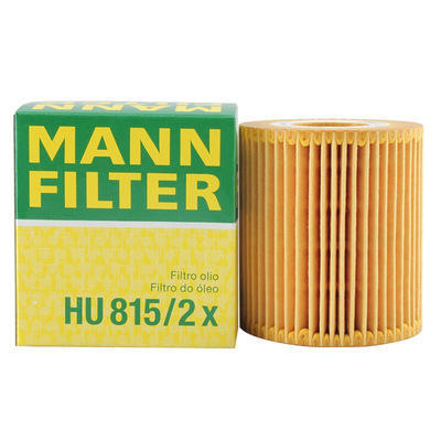 Germany Original MANN Oil Filter HU815/2X With Certificates Verified Supplier for BMW 1/3/X1/X3/Z4 series 11427508969