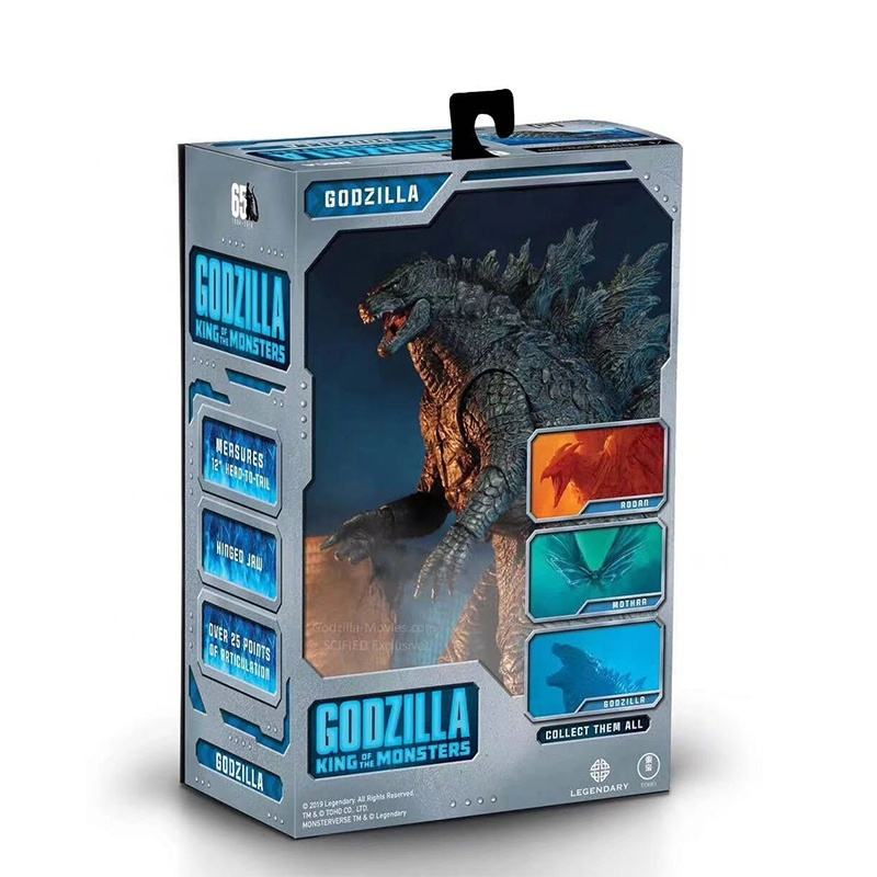 NECA GODZILLA 2 KING OF THE MONSTERS Action Figure Toys 2019 Movie Figure Toys Godzilla Vinyl Doll Collection Model Toy