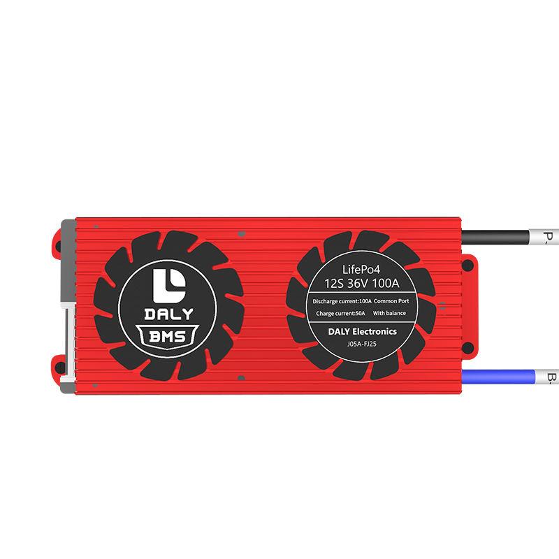 15S BMS 3.2V LiFePO4 20A-60A 48V 32650 Balance Board PCB Battery Protection