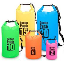 Custom Logo Outdoor Waterproof Ocean Pack Floating Sport  Sinotop Waterproof Backpack Dry Bag