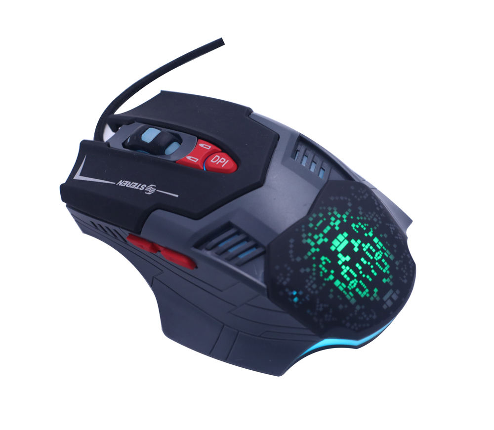 Best Quality Promotional 7 Keys 1.8M Wired RGB Breathing LED Gaming Mouse