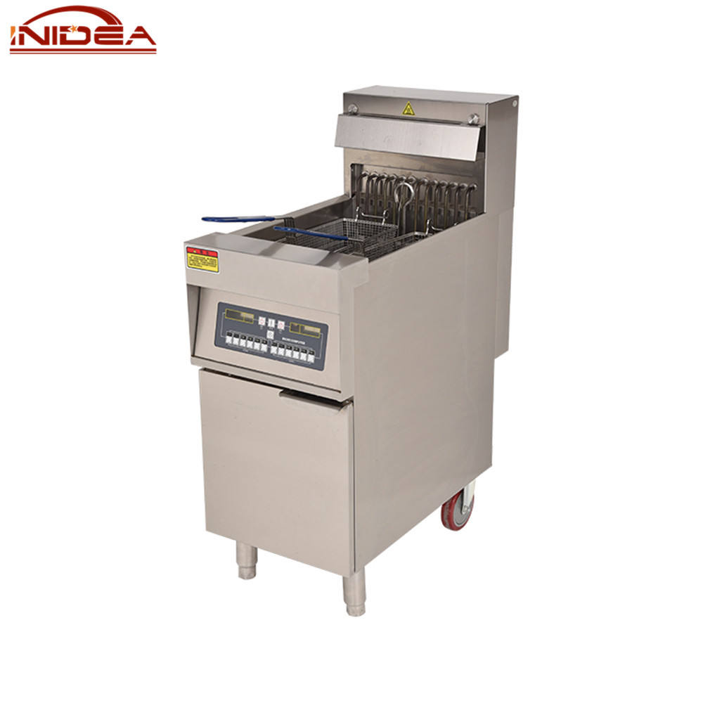 Electric Continuous Fryer Restaurant Equipment Ventless Restaurant Deep Fryer