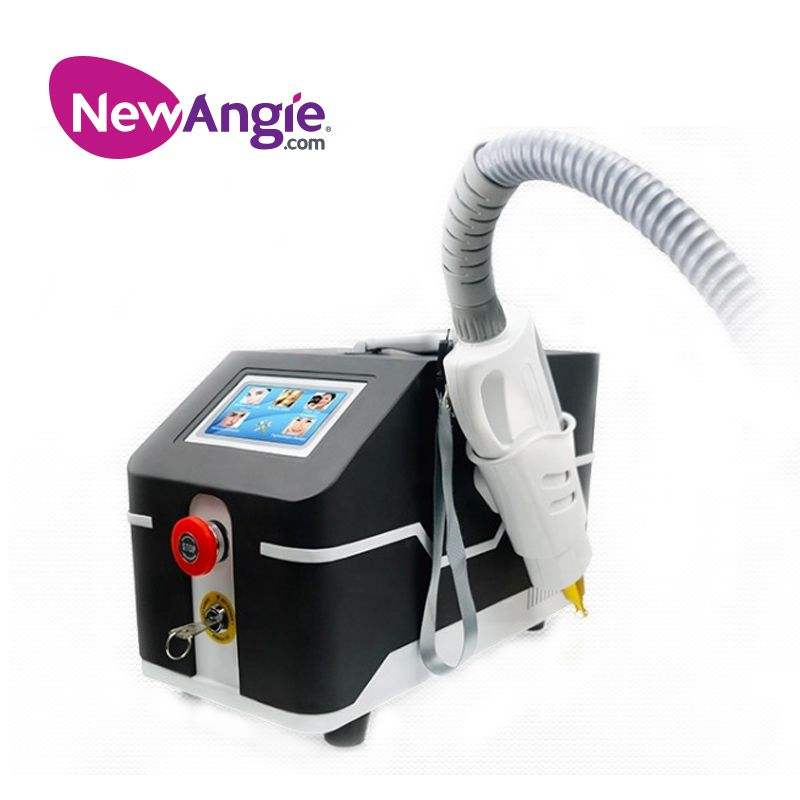 Beauty salon portable q switch nd yag laser tattoo removal machine price with ce