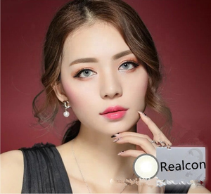 Realcon New design Toric Super Natural Color Contact Lenses made of HEMA OEM,ODM private label eye contact lens