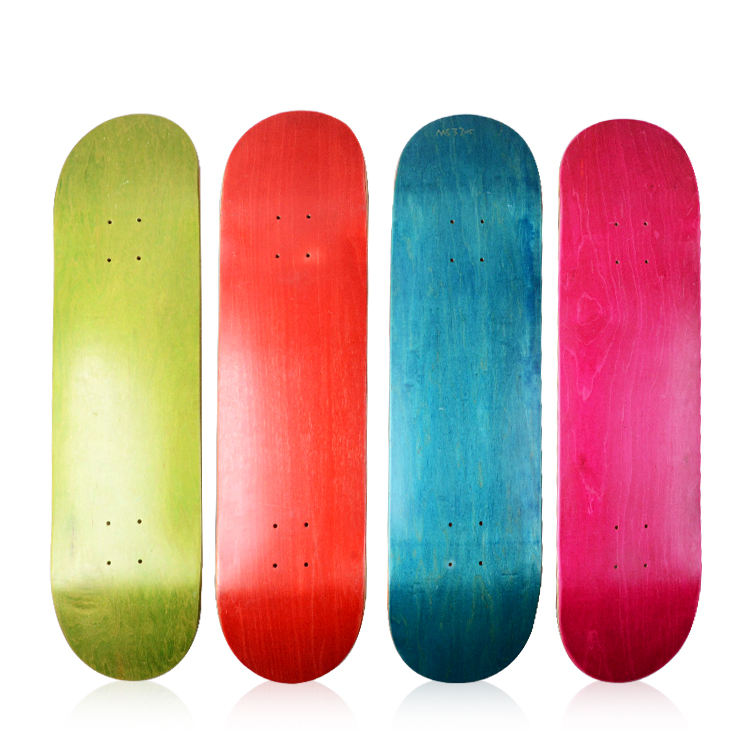 athletic professional custom 7 ply canadian maple skateboard deck 8.0 8.25 8.5 in blank skateboard deck for art