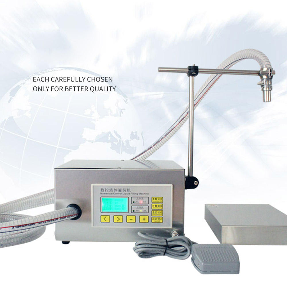 Automatic quantitative liquid weighing filling machine food grade liquor edible oil wine liquid canning machine