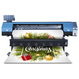 1.8M Eco Solvent Printer Machine Afdrukken Vinyl Stickers Guangzhou