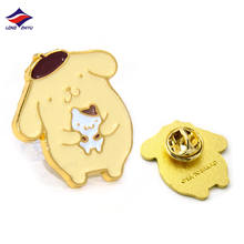 Longzhiyu 14 Years Manufacturer Custom Metal Pin Badges Cartoon Cat Family Design Pins for Gift with Lower Price Higher Quality