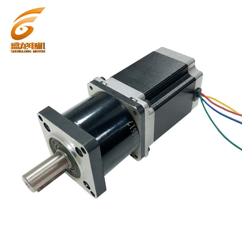 NEMA 23 gear reducer stepper motor /Deceleration ratio 1:10/1.8 Degree 57mm High Torque