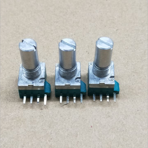 4 pin met center detent en center tap rotary potentiometer b503