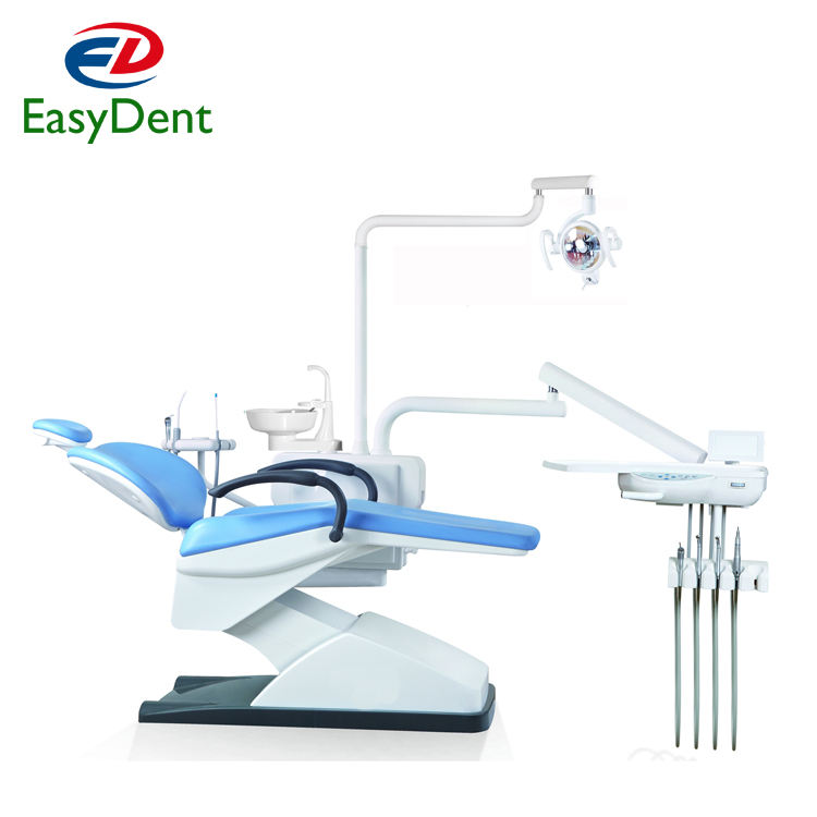 Hot Selling Roson Brand KLT6210 N1 Dental Unit Chair Complete Set with dental stool and dental handpiece