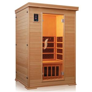 Factory directly made cheapest 2 person wood steam sauna room