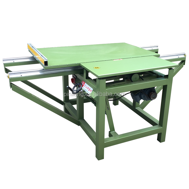 Superior quality easy to operate 2 meters simple Wood Cutting machine Simple sliding table saw woodworking machinery from China