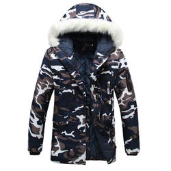 Winter Warm Casual Hoodies Parkas Overcoats Jackets Clothing