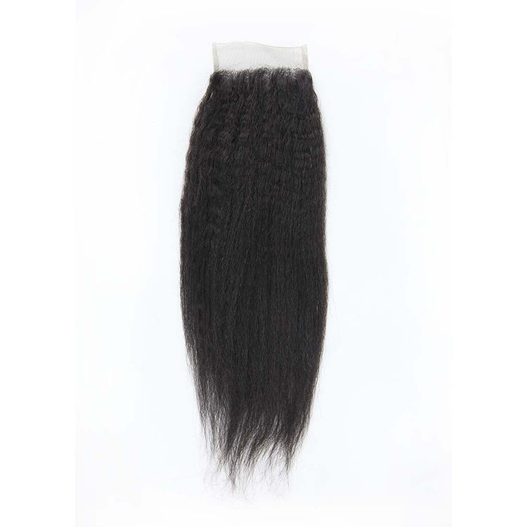 Afro bundle hairpiece kinky straight closure