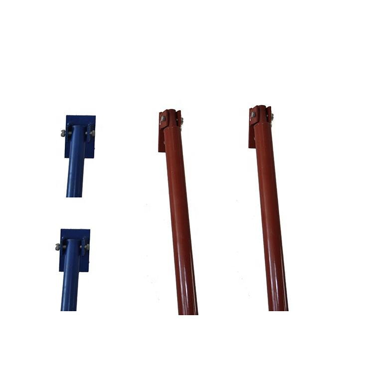 single-side pull push prop pipe support for concrete wall formwork