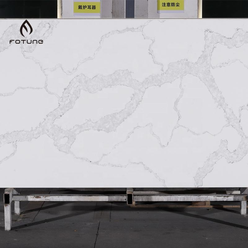 Quartz Slab Kitchen Countertop Artificial Marble Stone Price