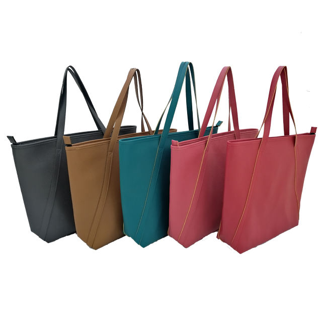 High Quality Luxury New Design Women's Handbag Customized Available Recycled Leather Tote Bags