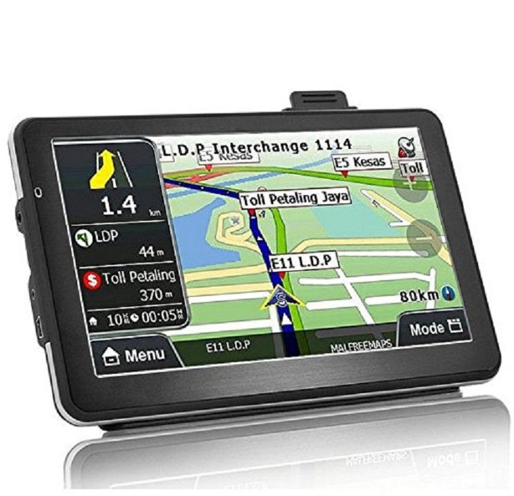 Amazon Hot sale 7 Inch LCD Touch Screen Automatic Reversing Car Navigation System GPS Positioning With Hand Held