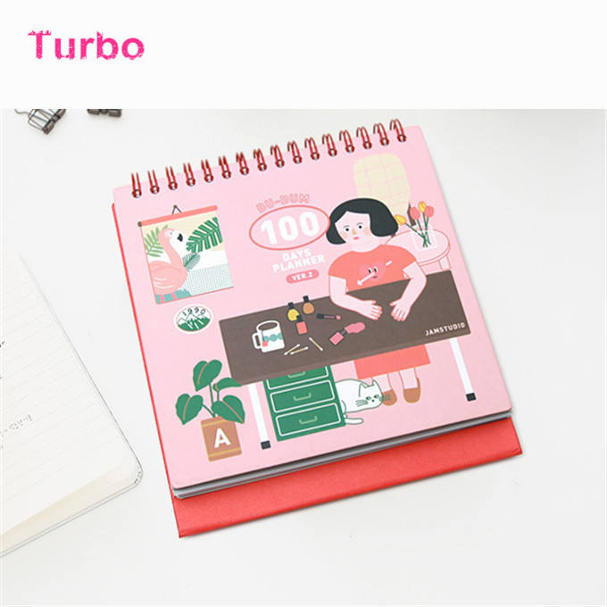Custom promotional unique 2020 High Quality Canada hotsale cute stationery kraft paper office items desk calendar cube
