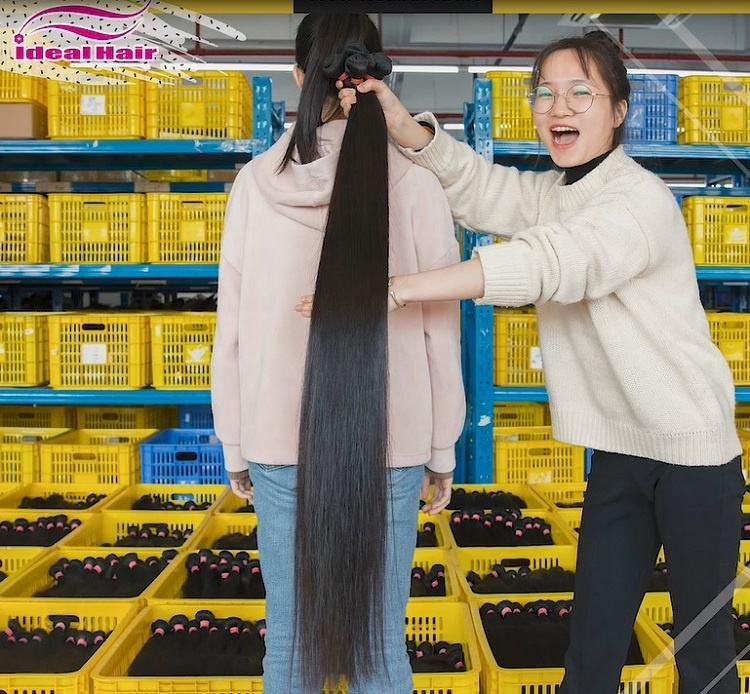 Wholesale raw indian human hair weaving,wholesale raw indian temple hair from india,raw remy virgin indian hair 100 human