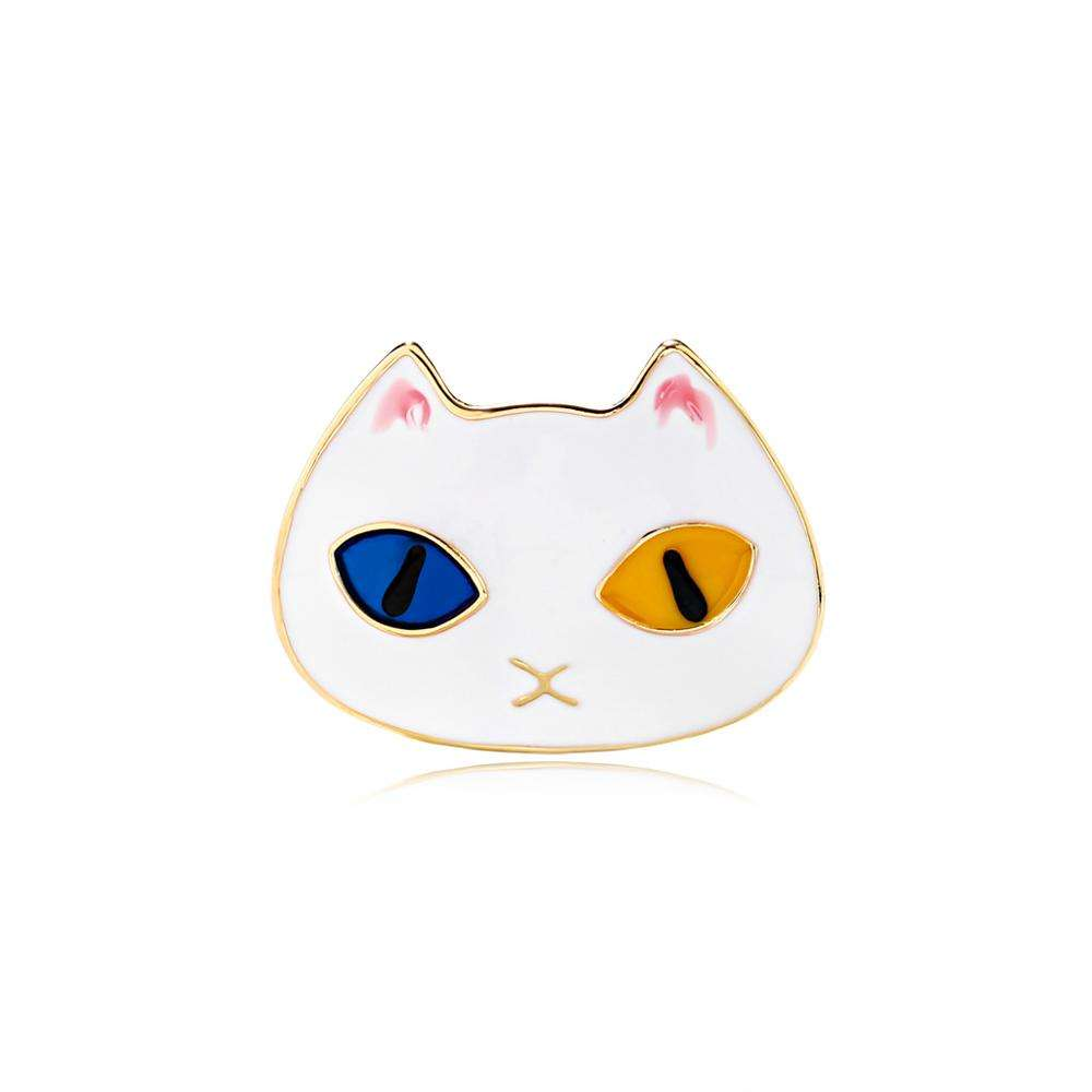 High Quality Cute Cat enamel pin brooch Brooches For Ladies Women Men Jewelry Pin