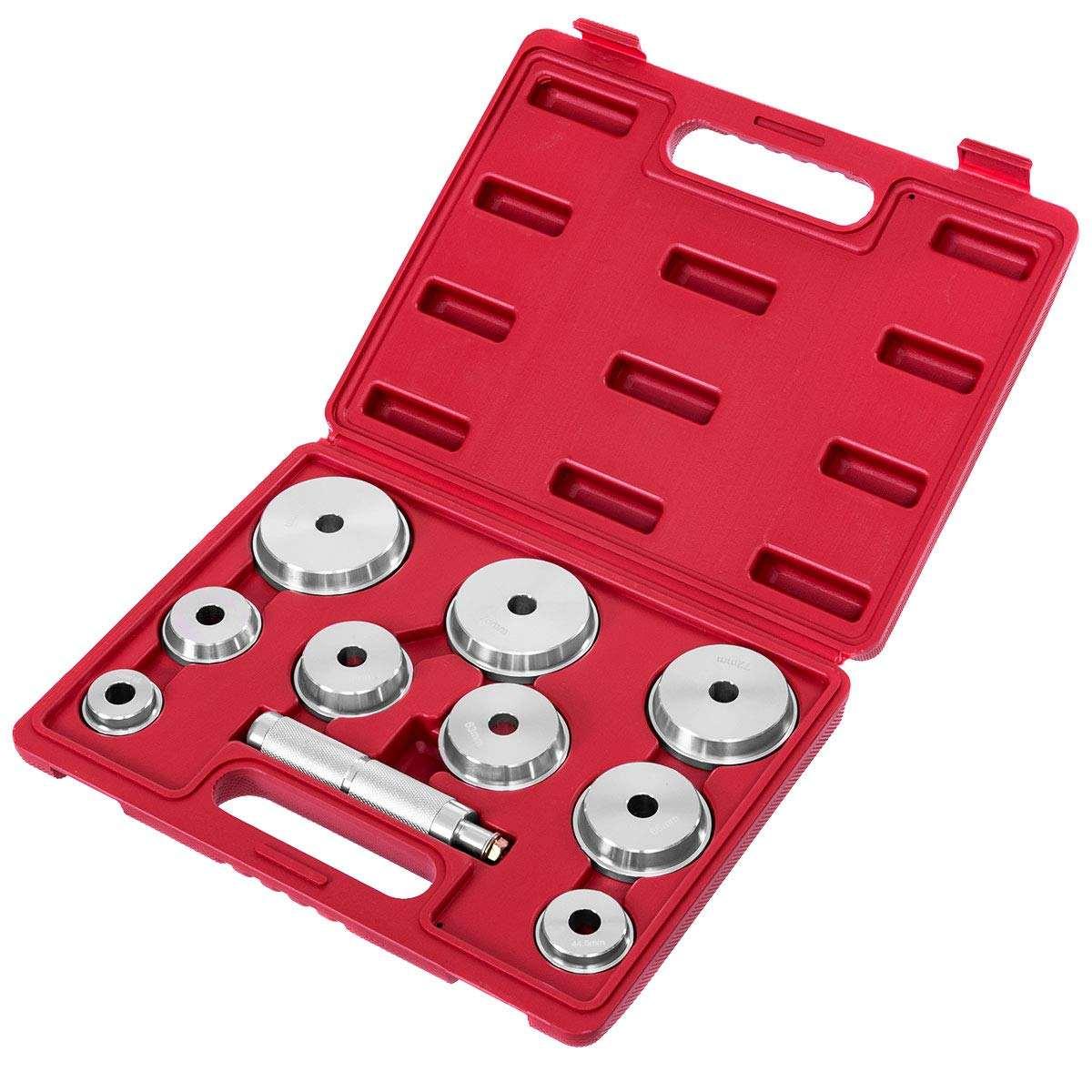 10 шт. подшипник гонки и печать драйвер установщик набор remover автомобильные инструменты